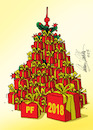Cartoon: pf2018 (small) by kotrha tagged christmas,santa,claus,new,year,pf