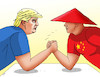 Cartoon: trumpchina19 (small) by kotrha tagged dollar,yuan,usa,china,currency,war