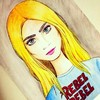 Cartoon: Cara Delevingne (small) by naths tagged cara,delevingne,model,blonde,fashion,color,watercolor