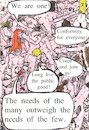 Cartoon: Freudian View Of Life (small) by Schimmelpelz-pilz tagged group,orgy,sex,sigmund,freud,spock,spocky,conformity,conformism,star,trek,nude,nudity,naked,human,humans,people,fellow,runner,follower,public,good,philosophy,of,life,ideology