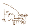 Cartoon: Alltagstrott. (small) by puvo tagged alltag,daily,arbeit,work,esel,donkey,pack,burden,beast,fishing,rod,carriage,karren,last,lasttier,möhre,carrot,angel,routine,grind