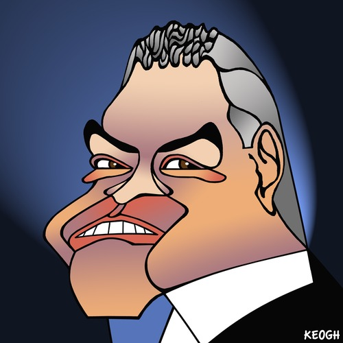 Cartoon: Joe Hockey (medium) by KEOGH tagged politics,cartoons,keogh,australia,caricature,hockey,joe,australian,politicians