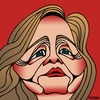 Cartoon: Hillary Clinton (small) by KEOGH tagged hillary,clinton,caricature,keogh,cartoons,democrats,candidate,democratic,president,united,states,us,america