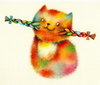 Cartoon: Cat (small) by Riina Maido tagged cat