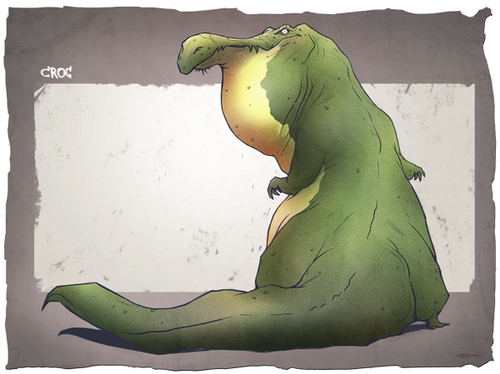 Cartoon: Creature Designs (medium) by cosminpodar tagged creature,illustration,concept