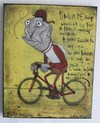 Cartoon: Fibian De Champ (small) by Glyn Crowder tagged frog,cyclist