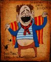 Cartoon: Jordi Burro (small) by Glyn Crowder tagged catalan,man