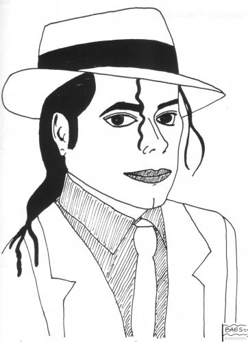 Cartoon: Michael Jackson (medium) by BAES tagged michael,jackson,king,of,pop,michael jackson,king of pop,jacko,thriller,the jacksons,jackson 5,smooth criminal,black or white,weiß,todestag,tod,tot,michael,jackson,king,of,pop,the,jacksons,smooth,criminal,black,or,white