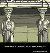 Cartoon: At the Erechtheion (small) by perugino tagged architecture