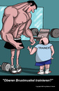 Cartoon: Bodybuilding (small) by perugino tagged sport,bodybuilding,fitness