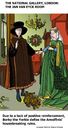 Cartoon: Jan van Eyck revisited (small) by perugino tagged artists,renaissance,paintings