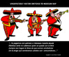Cartoon: Mexican Rap (small) by perugino tagged mexico,mariachi