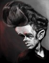 Cartoon: James Dean (small) by doodleart tagged james,dean,actor,celebrity,movie,classic,rebel
