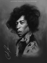 Cartoon: Jimi Hendrix (small) by thatboycandraw tagged jimi hendrix jimmy