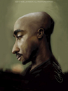 Cartoon: Tupac (small) by thatboycandraw tagged tupac,2pac,shakur
