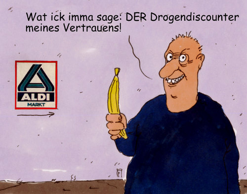 Cartoon: aldikoksbanane (medium) by Andreas Prüstel tagged discounter,aldi,bananen,koks,fund,berlin,brandenburg,drogen,drogenfund,cartoon,karikatur,andreas,pruestel,discounter,aldi,bananen,koks,fund,berlin,brandenburg,drogen,drogenfund,cartoon,karikatur,andreas,pruestel