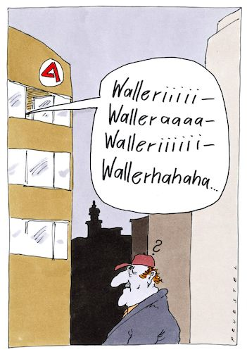 Cartoon: hartzer lied (medium) by Andreas Prüstel tagged jobcenter,hartz,vier,arbeitslose,cartoon,karikatur,andreas,pruestel,jobcenter,hartz,vier,arbeitslose,cartoon,karikatur,andreas,pruestel