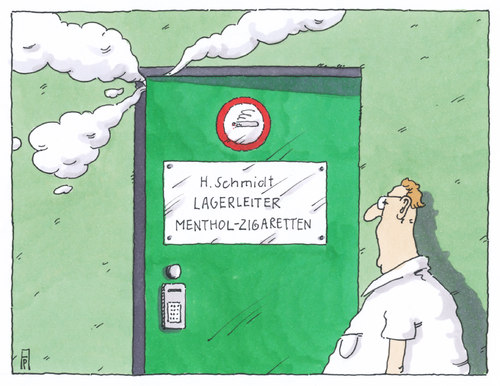 Cartoon: menthol zigaretten (medium) by Andreas Prüstel tagged eu,verbot,mentholzigaretten,altkanzler,helmut,schmidt,hortung,vorratsanlegung,cartoon,karikatur,andreas,pruestel,eu,verbot,mentholzigaretten,altkanzler,helmut,schmidt,hortung,vorratsanlegung,cartoon,karikatur,andreas,pruestel