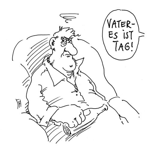 Cartoon: vatertag (medium) by Andreas Prüstel tagged christi,himmelfahrt,vatertag,cartoon,karikatur,andreas,pruestel,christi,himmelfahrt,vatertag,cartoon,karikatur,andreas,pruestel