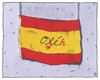 Cartoon: abdankung (small) by Andreas Prüstel tagged fußballweltmeisterschaft,brasilien,vorrrunde,spanien,ausscheiden,scheitern,cartoon,karikatur,andreas,pruestel