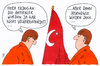 Cartoon: armenien-resolution (small) by Andreas Prüstel tagged armenienresolution,bundestag,bundesregierung,verwirrung,merkel,türkei,cartoon,karikatur