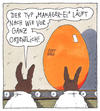 Cartoon: dickes ei (small) by Andreas Prüstel tagged ostern,ostereier,osterhase,manager