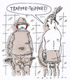 Cartoon: karnevalesk (small) by Andreas Prüstel tagged karneval,fasching,tripper,trapper,indianer,geschlechtskrankheit