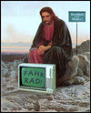 Cartoon: rastplatz (small) by Andreas Prüstel tagged rasten,jesus,radfahrer,mutter,cartoon,collage,andreas,pruestel