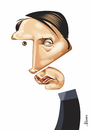 Cartoon: Mads Mikkelsen (small) by Ulisses-araujo tagged mads,mikkelsen