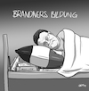 Cartoon: Brandners Bildung (small) by INovumI tagged stefan,brandner,afd,wirre,rede,ansprache,antifant,fuckafd,lernen,im,schlaf