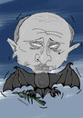 Cartoon: putin and peace (small) by Mohamad Altamimi tagged war,putin,peace,syria