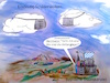 Cartoon: Bayern Wetter (small) by ab tagged bayern,himmel,wolken,politik,sicherheit
