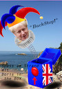 Cartoon: biarritz (small) by ab tagged g7,eu,uk,brexit,pm