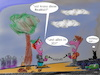Cartoon: check it out (small) by ab tagged kinder,jugendliche,smartphone,welt