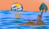 Cartoon: happy holidays (small) by ab tagged urlaub,reise,buchen,firma,pleite