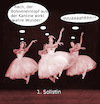 Cartoon: premierenabend (small) by ab tagged ballett,tanz,sprung,luft,essen