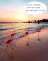 Cartoon: tierischer sommerabend (small) by ab tagged strand,meer,sonnenuntergang,vögel