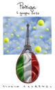 Cartoon: Tennis (small) by Giulio Laurenzi tagged francesca,schiavone,tennis,roland,garros,2010