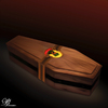 Cartoon: De sigaar (small) by Bart van Leeuwen tagged fidel,castro,cigar,coffin,cuba