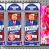 Cartoon: Disposable figure (small) by Bart van Leeuwen tagged sale,china,import,trade,war,trump,elections,2020