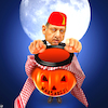 Cartoon: Trick or treat (small) by Bart van Leeuwen tagged erdogan,halloween,khashoggi,pumpkin,turkey,mohammed,bin,salman,saudi,arabia