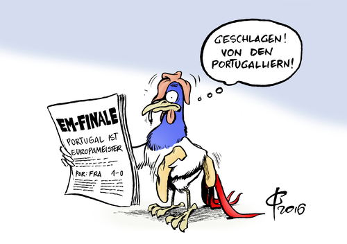 Cartoon: Portugallier (medium) by Paolo Calleri tagged europa,em,2016,europameisterschaft,uefa,frankreich,paris,finale,portugal,portugiesen,gallier,sieger,sieg,gewinner,karikatur,cartoon,paolo,calleri,europa,em,2016,europameisterschaft,uefa,frankreich,paris,finale,portugal,portugiesen,gallier,sieger,sieg,gewinner,karikatur,cartoon,paolo,calleri