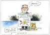 Cartoon: Blank (small) by Paolo Calleri tagged hoeherer,regelsatz,hartz,vier,regierung,opposition,cdu,fdp,spd