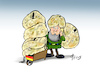 Cartoon: Deutscher Gartenzweg (small) by Paolo Calleri tagged deutschland,muell,bundesamt,umwelt,umweltbundesamt,verpackung,recycling,konsum,plastik,lifestyle,natur,mensch,karikatur,cartoon,paolo,calleri