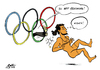 Cartoon: Ringen (small) by Paolo Calleri tagged olympia,ioc,iok,exekutive,internationales,olympisches,komitee,sport,ringen,ringkampf,kampfsport,2020,sommerspiele,olympiade,programm,kernprogramm,tradition,antike,griechenland,sportart,klassisch,kernsportart