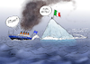 Cartoon: Verfahrene Situation (small) by Paolo Calleri tagged eu,kommission,italien,haushalt,haushaltsstreit,ausgaben,defizit,defizitverfahren,sanktionen,regierung,rom,lega,5sterne,stelle,populisten,populismus,euro,eurozone,stabilitaet,kritik,schulden,neuverschuldung,karikatur,cartoon,paolo,calleri
