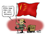 Cartoon: Waffenexporteur (small) by Paolo Calleri tagged volksrepublik,china,asien,waffen,waffenexport,export,waffenhandel,waffenhaendler,ruestungsgueter,ruestungsindustrie,karikatur,paolo,calleri