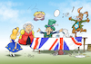 Cartoon: Wonderland (small) by Paolo Calleri tagged eu,uk,gb,grosbritannien,vereinigtes,koenigreich,briten,britannien,brexit,referendum,volksabstimmung,unterhaus,parlament,abgeordnete,parlamentarier,demokratie,abstimmung,austrittsabkommen,europa,europawahl,wahlen,austritt,union,karikatur,cartoon,paolo,calleri