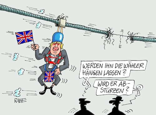 Cartoon: Brexit Parlamentswahl (medium) by RABE tagged brexit,no,deal,johnson,boris,downing,street,austritt,eu,brüssel,london,rabe,ralf,böhme,cartoon,karikatur,pressezeichnung,farbcartoon,tagescartoon,may,juncker,luxemburg,parlamentswahlen,labourpartie,seil,hängen,wähler,brexit,no,deal,johnson,boris,downing,street,austritt,eu,brüssel,london,rabe,ralf,böhme,cartoon,karikatur,pressezeichnung,farbcartoon,tagescartoon,may,juncker,luxemburg,parlamentswahlen,labourpartie,seil,hängen,wähler