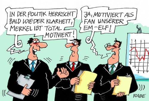 Cartoon: Fußballfan (medium) by RABE tagged fußball,em,paris,nationalelf,löw,reus,ruby,brandt,bellarabi,rabe,ralf,böhme,cartoon,karikatur,pressezeichnung,farbcartoon,tagescartoon,merkel,fan,fanatiker,klarheit,motivation,kanzlerin,fußball,em,paris,nationalelf,löw,reus,ruby,brandt,bellarabi,rabe,ralf,böhme,cartoon,karikatur,pressezeichnung,farbcartoon,tagescartoon,merkel,fan,fanatiker,klarheit,motivation,kanzlerin